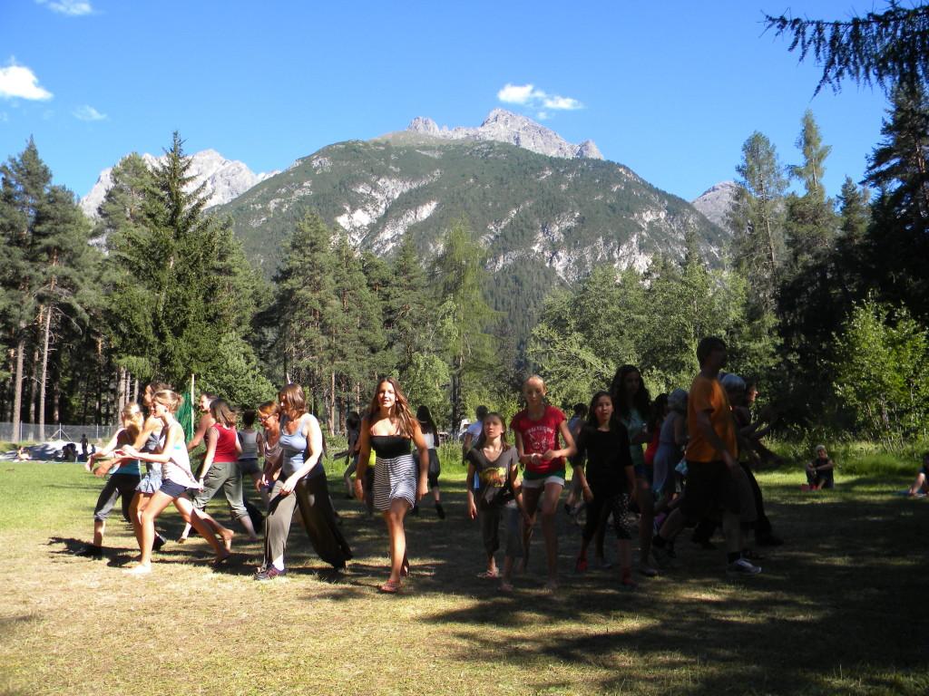 Tanzreise Schweiz/Avrona 2013