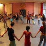 Avrona Tanzen im Saal