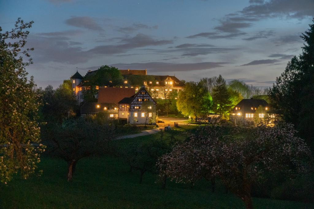 Schloss Hohenfels Abend