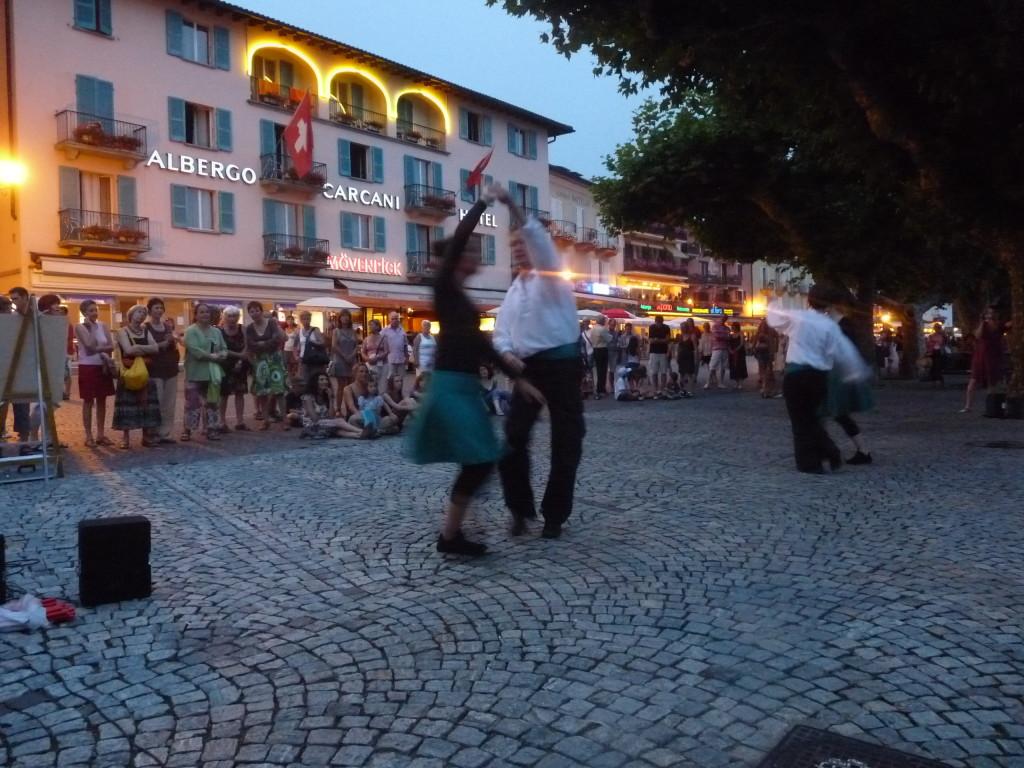 Tanzauftritt Ascona 2013