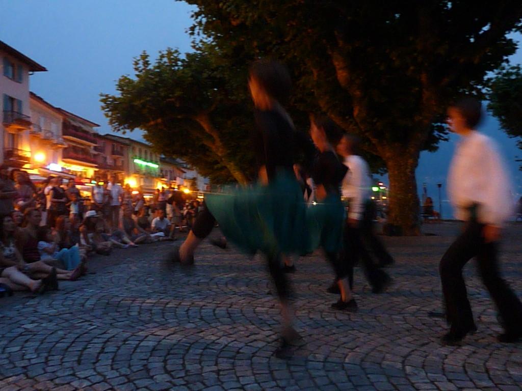 Tanzauftritt Ascona 2010